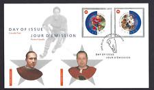 Canada  FDC   # 1935   NHL ALL STARS    2002 cd     New Fresh Unaddressed
