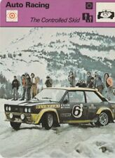 "Vintage 1979 ""The Controlled Skid"" Rally Car Auto Racing Sportscaster Card"