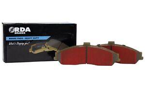 RDA Brakes Extreme Brake Pad Set Front RDX1481SM fits Honda Accord Euro 2.4 (...