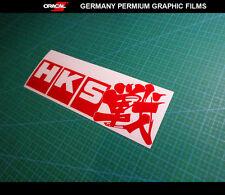 HKS 戰 Fight JDM Drift Modified Turbo Supercharger Suspension Car Vinyl Sticker