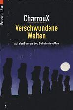 VERSCHWUNDENE WELTEN - Robert Charroux - LIST TB 2. Auflage