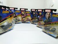Hot Wheels personnage voitures échelle 1:64 Marvel Avengers Infinity war