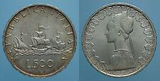 REPUBBLICA ITALIANA 500 LIRE 1989 CARAVELLE FDC 2