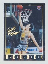 1994 Futera NBL Series II Australian Basketball Scott Fisher Heroes #NH09
