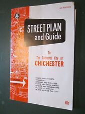 Street plan and Guide to cathedral city of CHCHESTER