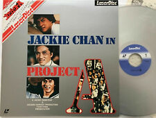 Jackie Chan - Project A - Japanese Laserdisc + OBI - RARE **New & Sealed**