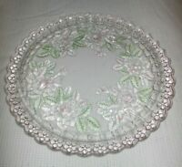MIKASA STUDIO NOVA ROSE GARDEN ROUND SERVING TRAY 13""