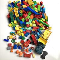 4.5lb Mixed Lot Lego Megabloks Duplo My First Construction Site Dump Truck +