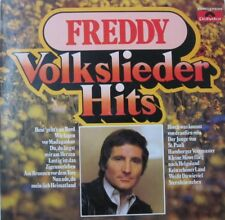 FREDDY QUINN - VOLKSLIEDER -HITS  - LP