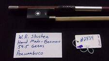 W. R. Shuster Violin Bow - #2834