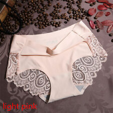 Women Lady Soft Underpants Seamless Lingerie Briefs Lace Underwear Panties Sexy