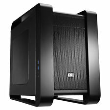 Xigmatek Aquila Black Steel Cube Chassis Compatible With Micro ATX and Mini ITX