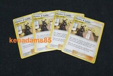 4 x Pokemon SM12 Cosmic Eclipse Cynthia & Caitlin Trainer Cards 189/236