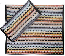 MISSONI HOME SET ASCIUGAMANI  CINIGLIA OMAR 160 HAND + BATH TOWEL VELOUR SET