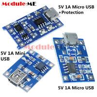 2/5/10PCS TP4056 5V 1A Mini/Micro USB 18650 Lithium Battery Charger Board Module