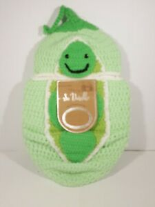 So Dorable Hand Crocheted Caterpillar Cocoon w/ Hat Unisex Photo Newborn- 10lbs
