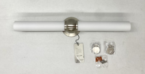 """NEW Pottery Barn Brushed Nickel LED Ruthin 27"""" Sconce by WAC Lighting"""