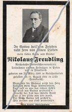 STERBEBILD   AVIS DE  DECES  SOLDAT  ALLEMAND   BRUSSEL  1944    ( 139 )