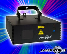 "Laserworld"" es-400rgb QS "" 400mw RGB Láser con DMX / COCHE / SONIDO/master-slave"