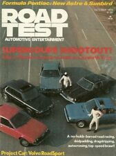 ROAD TEST MAGAZINE 1976 OCT - HOT VOLVO, R/T, ABARTH 131 RALLY, COUPES DUEL