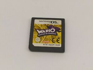 WARIO MASTER OF DISGUISE NINTENDO DS N3DS 3DS