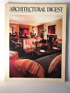 Architectural Digest Magazine April 1978 Zandra Rhodes Townhouse