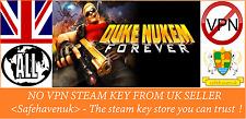DUKE NUKEM FOREVER Steam Key NO VPN REGIONE GRATIS UK Venditore