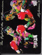 Oscar De La Hoya Felix Trinidad On Site Boxing Program Poster, Latino Boxing