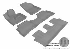 For 14-15 Kia Sorento Kagu Gray All Weather Floor Mat Set