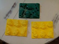 3 Jello Jiggler Molds Disney Phineas and Ferb minions