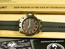 "Men's Watch Infantry Watch Co. IF-008-R-R ""INFILTRATOR"" RED #s, RUBBER BAND"