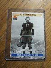 JIM THORPE ATHLETE OF THE DECADE #867 NFL Sports Illustrated for Kids