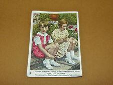 CHROMO 1939 CHOCOLAT COTE D'OR ENFANTS ROYAUX BELGIQUE 3 BAUDOUIN CHARLOTTE 1937
