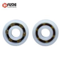 5PCS - POM 604 Bearing 4x12x4 mm  Glass Balls Nylon Cage Plastic Ball Bearings