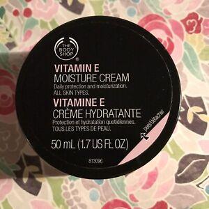THE BODY SHOP VITAMIN E MOISTURE FACE CREAM 1.7 OZ