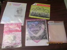 Card Paper Craft Card Making Embossing Folders and Silicone Ink Stamps