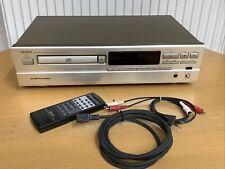 DENON Oberklasse-CD-Player DCD-1015, SILBER (selten), wie neu, mit FB