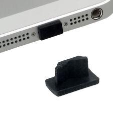 Staub Schutz eckig black f Apple iPhone 5S Feuchtigkeitsschutz