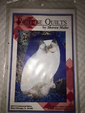 Picture Quilts Art Pattern Himalayan Cat Sharon Malec 17�x22� Malec Designs