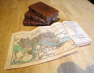 1809 British Tourist Guides (inc London) with stunning colour maps William Mavor
