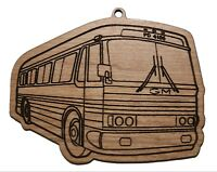 Gm PD4106 GreyhoBus Highway Vintage Hanging Ornament Laser-cut Wood Collectible