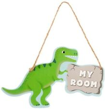 Roarsome Dinosaurs My Room Hanging Plaque Kids Childrens Bedroom Nursery T Rex