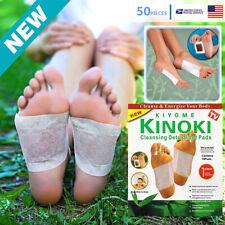 50 PCS Premium Detox Foot Pads Organic Herbal Cleansing Healthy Care