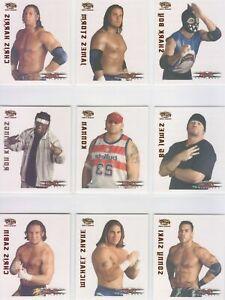 2004 TNA Wrestling Pacific Tattoo Transfer Insert Complete Set Impact WWE AEW 28