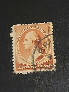 US Continental Bank Note Washington - 2c Brown Stamp Used -#4018