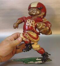Model 1254 Vtg 1976 Homco aluminum metal football player number 88