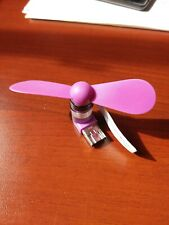 Portable Mini Cooling Fan ( USB PLUG + Micro USB ) For Android Phones