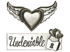 LOVE STRUCK METAL EMBELLISHMENTS scrapbooking UNDENIABLE