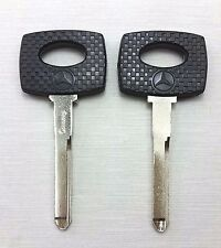 2 BLANK KEY MERCEDES BENZ C S SEL SL SLC CLASSES W126 W201 190 200 230 260 300 B