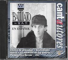 "FRANCO BATTIATO - RARO CD IN SPAGNOLO "" CANTAUTORES  BATTIATO EN ESPANOL """